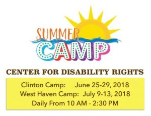 Click on the image for more information and to download an application for CDR's 2018 Summer Camp.